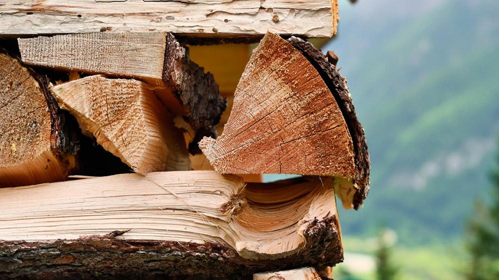 Holz Brennstoff