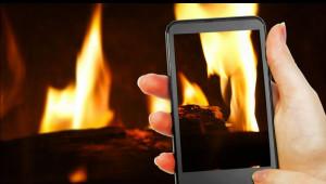 Kaminofen-App, mobile Kaminofensteuerung