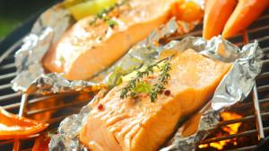 Raffinierte Grillrezepte - Lachs vom Grill