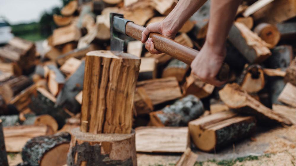 brennholz machen brennholz machen kopfweide zerlegen. Black Bedroom Furniture Sets. Home Design Ideas