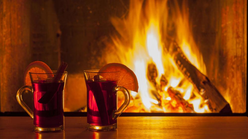 entspannen vorm kaminofen - das richtige für kalte tage | glut, Einladung