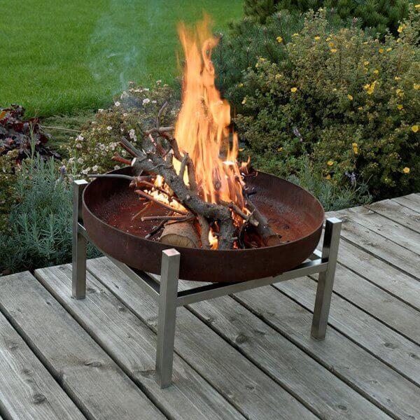 Feuerschale Svenskav Design CUBE M, Ø 63 cm