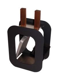 Kaminbesteck Lienbacher Cube 2-teilig, Anthrazit