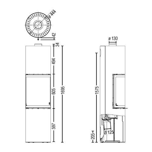Kaminofen Austroflamm Stila 2.0 5kW