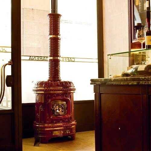 Kaminofen Sergio Leoni Matilde di Canossa Keramikofen 10,8kW