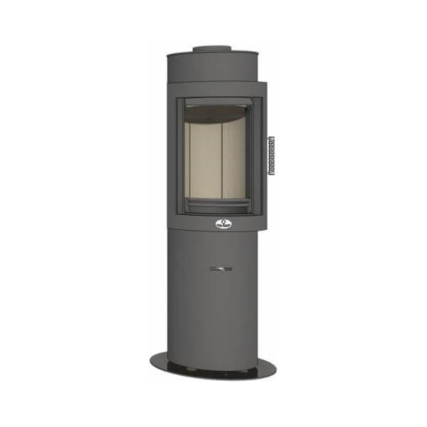 Kaminofen Max Blank ORANGE S 5,8kW drehbar