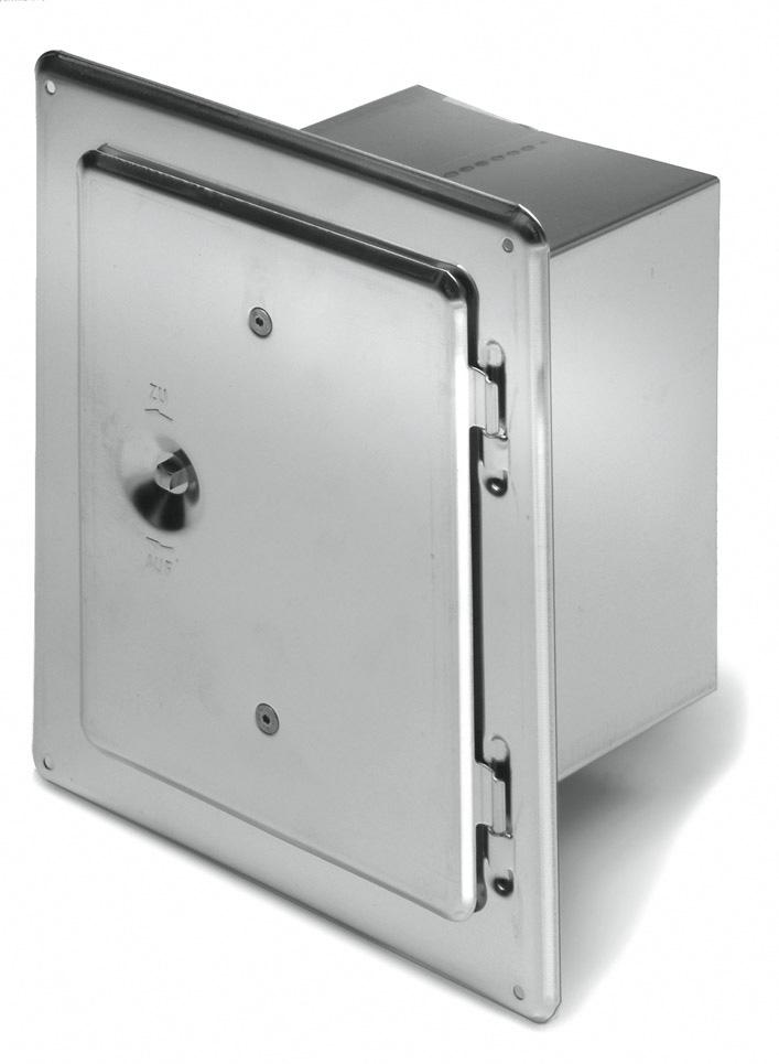 Kamintür RV 150/300-15 - Kutzner & Weber