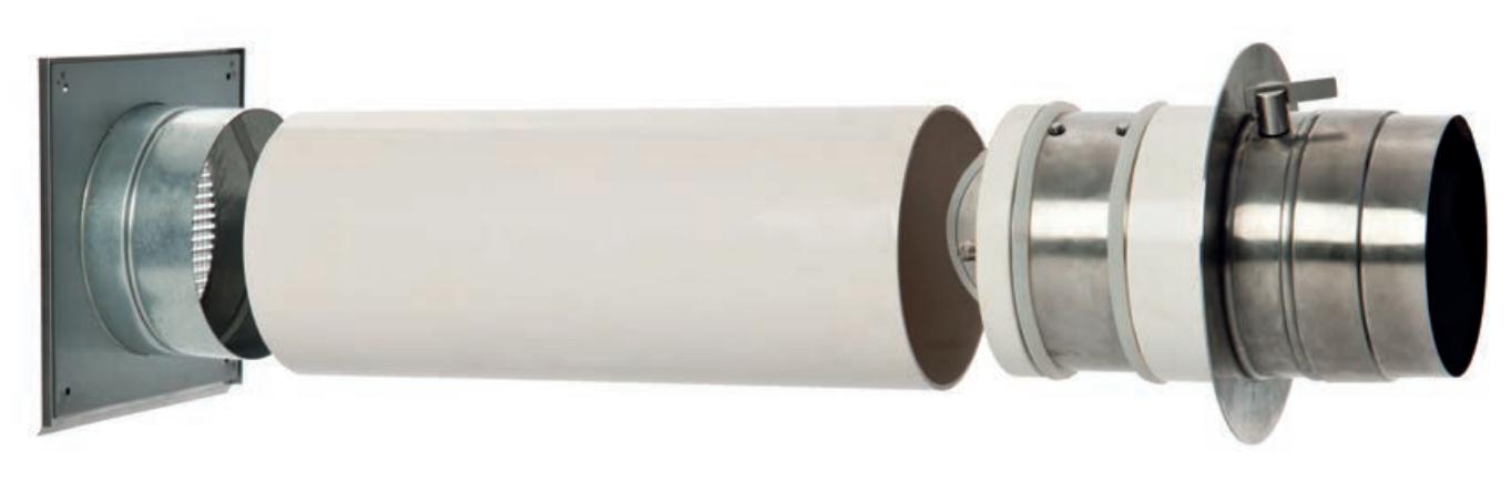 Doppelklappensystem inkl. Zubehör und Stutzen - CB-tec
