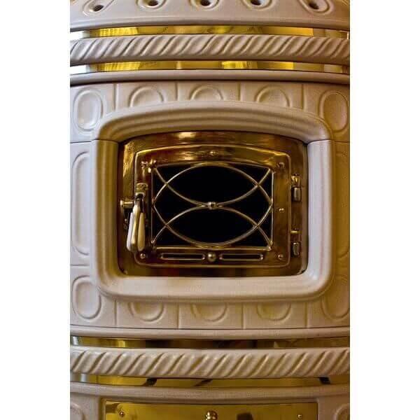 Kaminofen Sergio Leoni Castellana Keramikofen 15kW