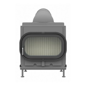 Kachelofeneinsatz Brunner HKD 8 Drehtür Flachglas 9 kW