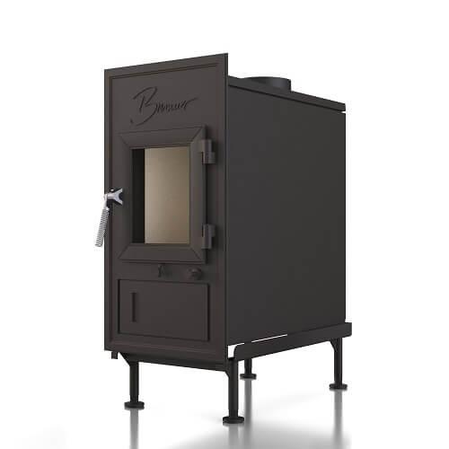 Kachelofeneinsatz Brunner WF 50 (Rost) Einfachglasscheibe, 9 kW