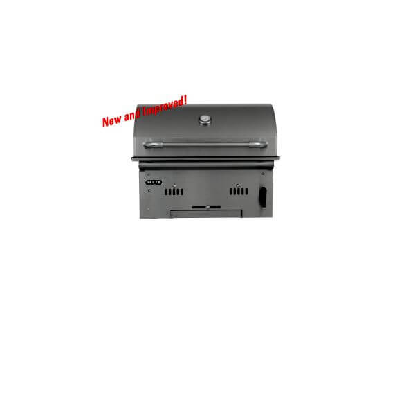 Holzkohlegrill Bull BBQ Bison Charcoal Built In