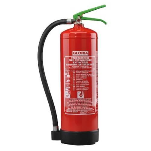 Feuerlöscher Gloria SDE 6 mit Manometer