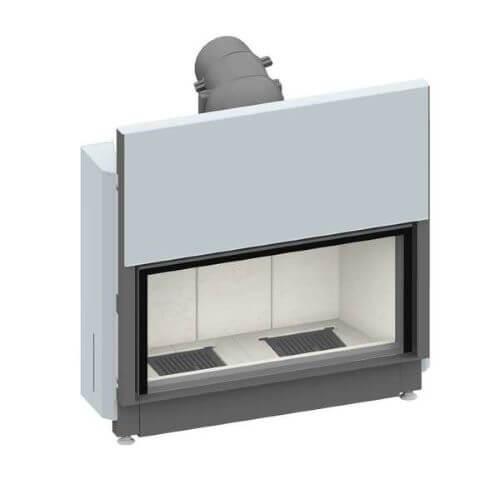 Kamineinsatz SCHMID Lina 10051 h Kristall+ 10kW, Schiebetür