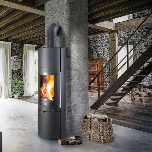 Kaminofen Haas und Sohn Premium WELS RLU GRANDE 5 kW raumluftunabhängig