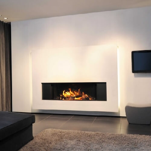 Kamineinsatz M-Design LUNA Diamond 1300H 16kW