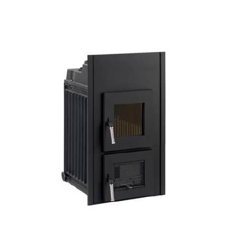 Kachelofeneinsatz LEDA Rubin K21, 9,5 kW