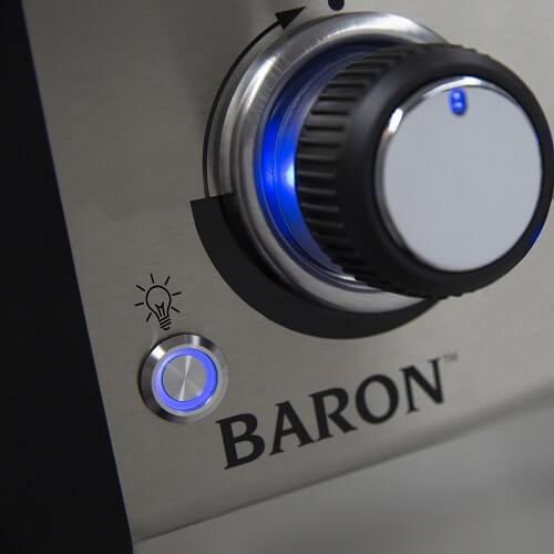 Gasgrill Broil King Baron 520 Black