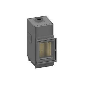 Kachelofeneinsatz Olsberg Profi W 7 12 kW mit Außenbefeuerung