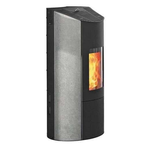 Pelletofen Olsberg Levana 8kW ( mit Konvektionsluftventilator) raumluftunabhängig