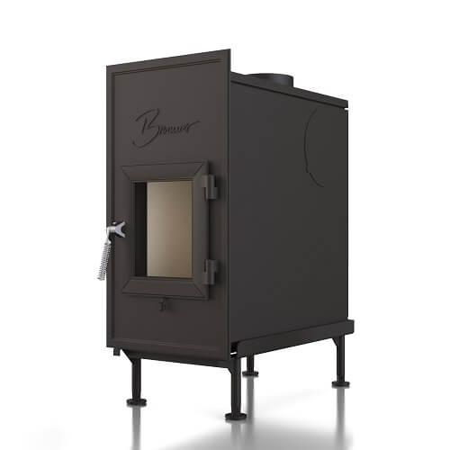 Kachelofeneinsatz Brunner WF 50 Einfachglasscheibe, 9 kW