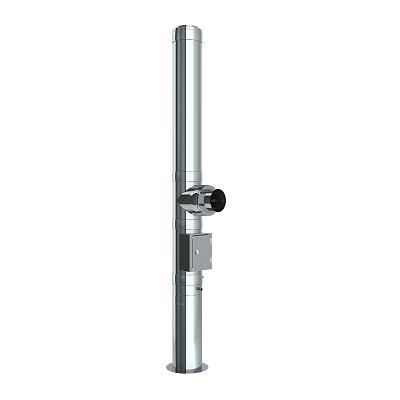 Edelstahlschornstein doppelwandig Ø 150 mm - Jeremias DW-ECO