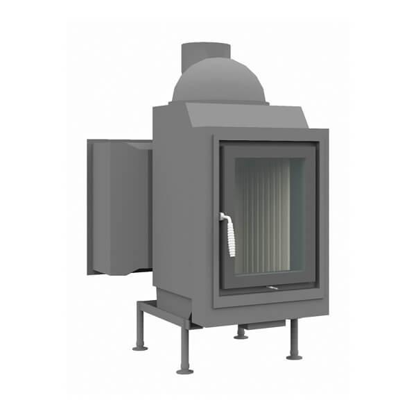 Kachelofeneinsatz Brunner HKD 5.1 Drehtür Flachglas DHT M, 10 kW