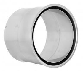 FU42F - Wandfutter passend für 2 mm Ofenrohr