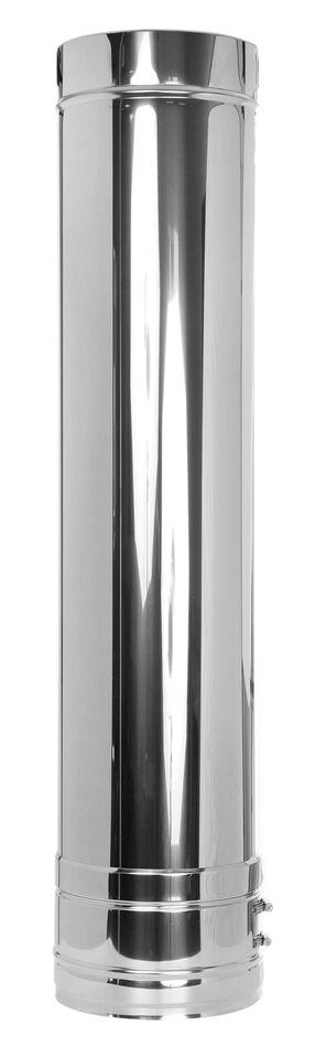 Edelstahlschornstein - Längenelement 1000 mm - doppelwandig - Jeremias DW-FU