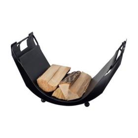 Holzkorb Schössmetall TWIST NOIR