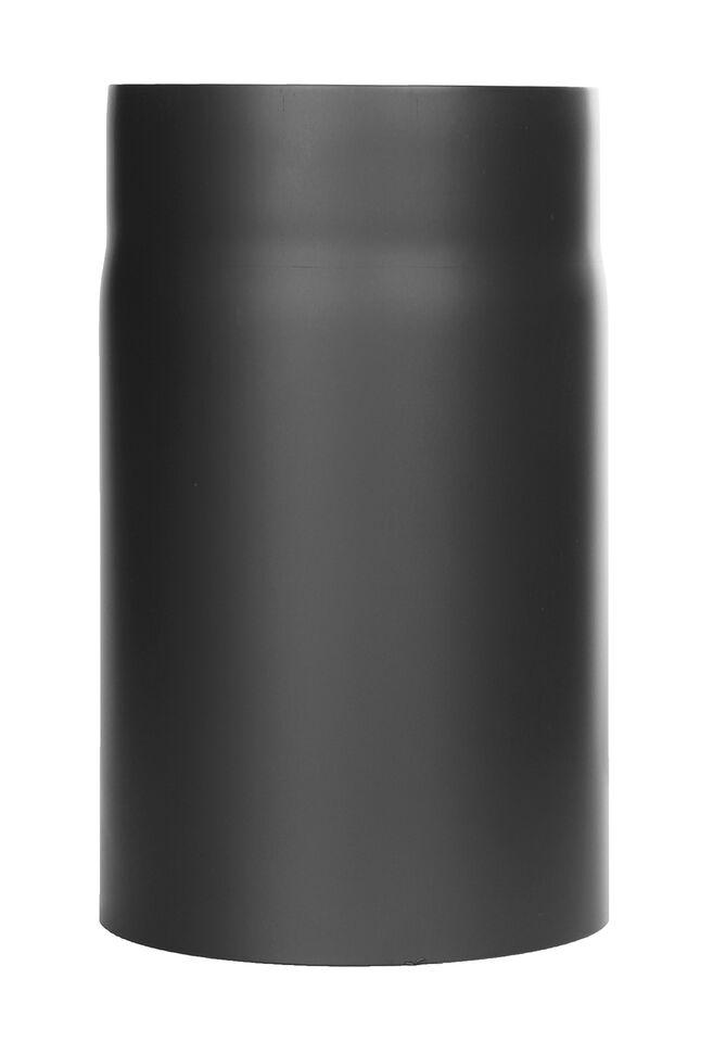 Ofenrohr - Längenelement 250 mm - schwarz