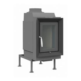 Kachelofeneinsatz Brunner HKD 6.1 Drehtür Flachglas 9 kW