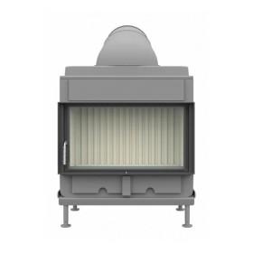 Kachelofeneinsatz Brunner HKD 7 Drehtür Flachglas 9 kW