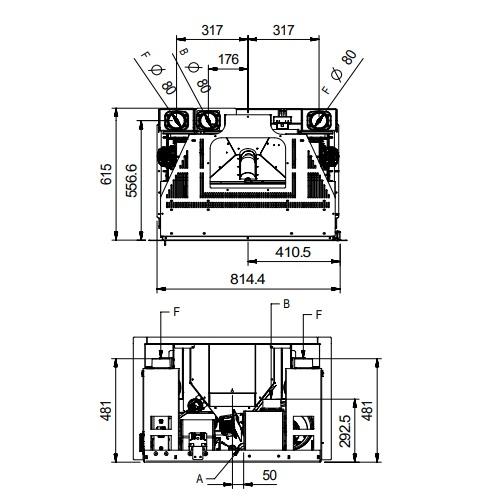 Pellet Kamineinsatz La Nordica Extraflame Comfort P85 Plus 12kW
