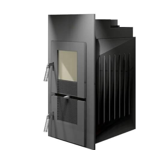 Kachelofeneinsatz LEDA Rubin K19, 11 kW