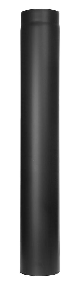 Ofenrohr - Längenelement 1000 mm - schwarz