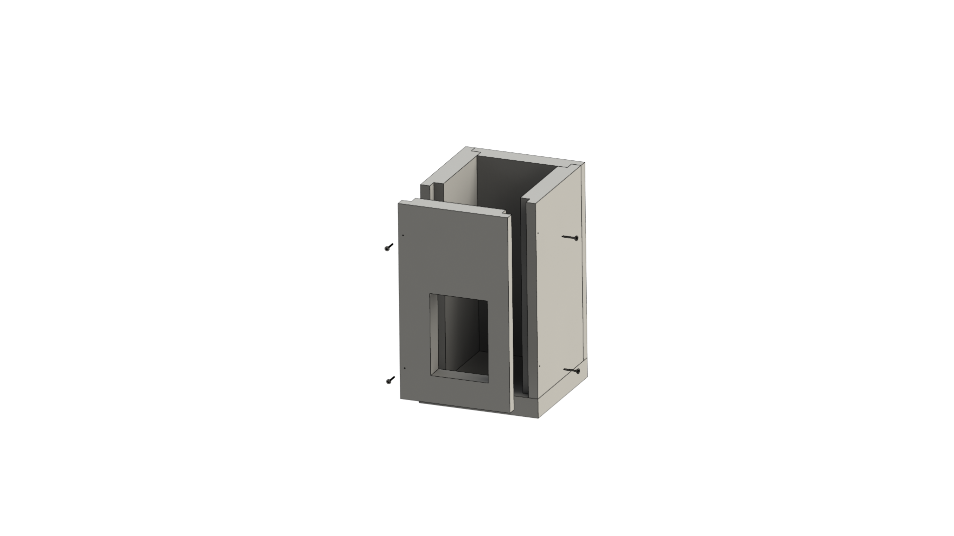 Leichtbauschornstein - Sockelelement 500 mm - Jeremias F90