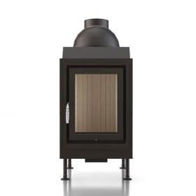 Kachelofeneinsatz Brunner HKD 5.1 Drehtür Flachglas 10 kW