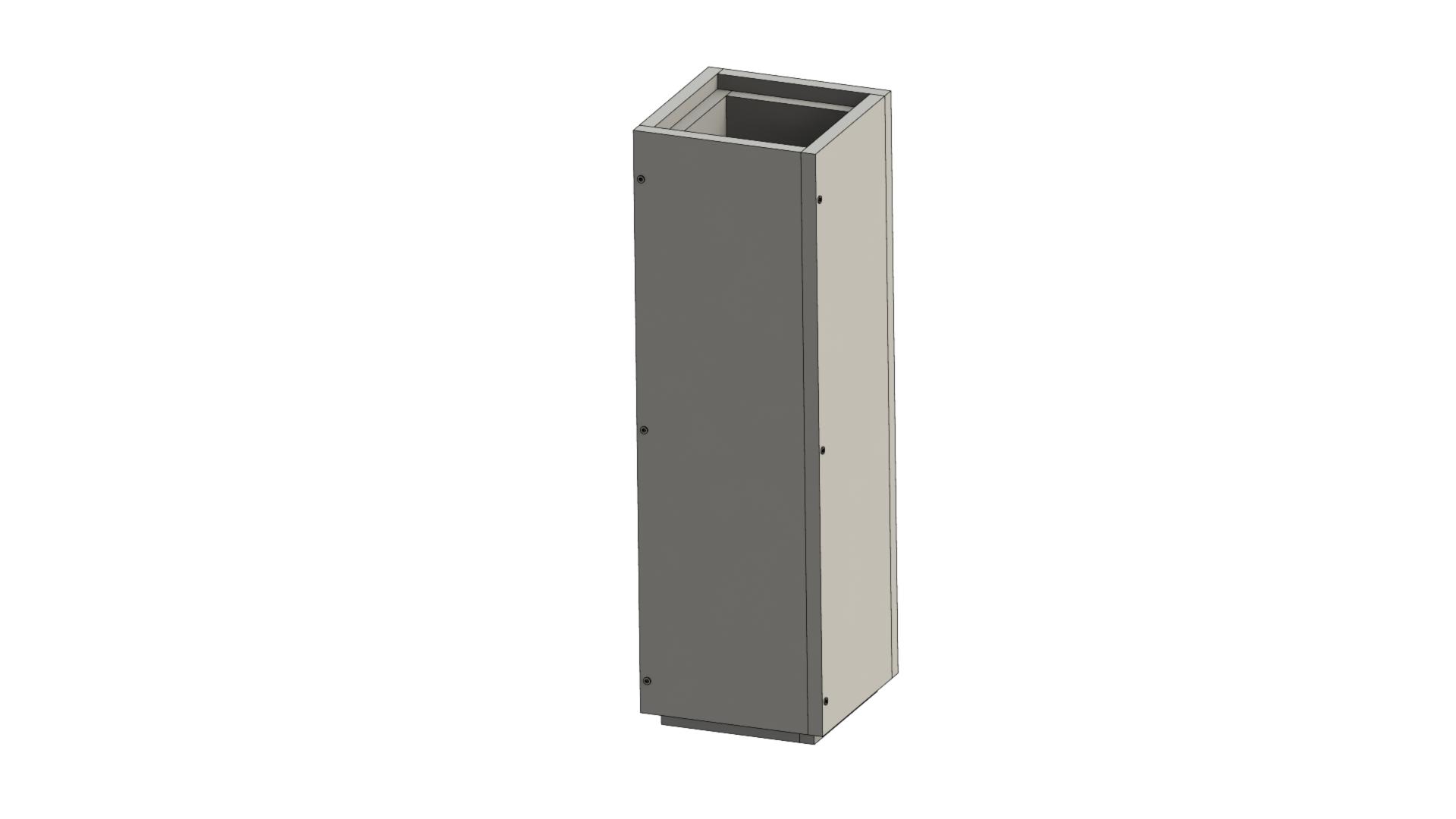Leichtbauschornstein - Schachtelement 1000 mm - Jeremias F90