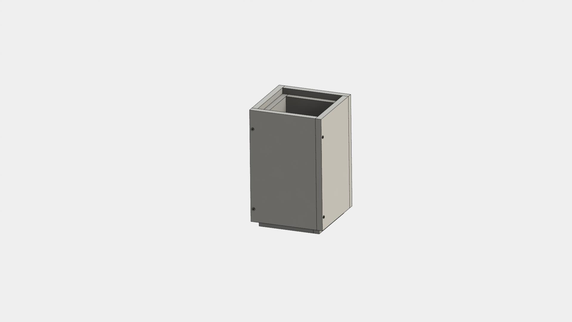 Leichtbauschornstein - Schachtelement 500 mm - Jeremias F90