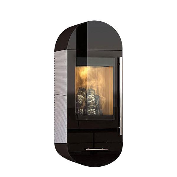 Kaminofen Olsberg Turia Lina Compact Glasfront 5kW raumluftunabhängig