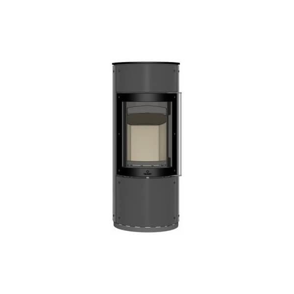 Kaminofen Max Blank NIMES 5,1kW Speicherofen raumluftunabhängig drehbar