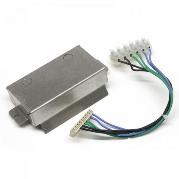 MCZ Verkabelung für externe Anschlüsse mit dem Raumtemperaturfühler