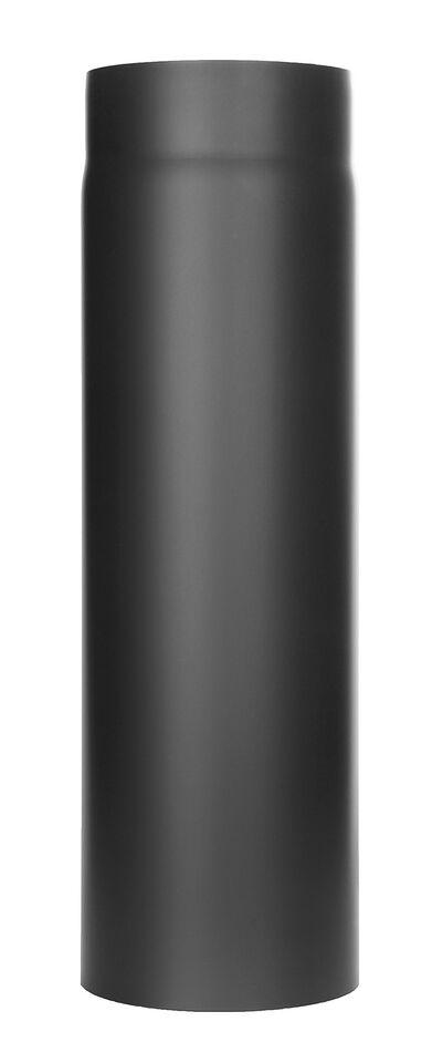 Ofenrohr - Längenelement 500 mm - schwarz