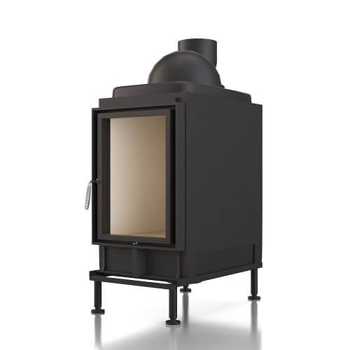 Kachelofeneinsatz Brunner HKD 2.2 XL Drehtür Flachglas, 13 kW