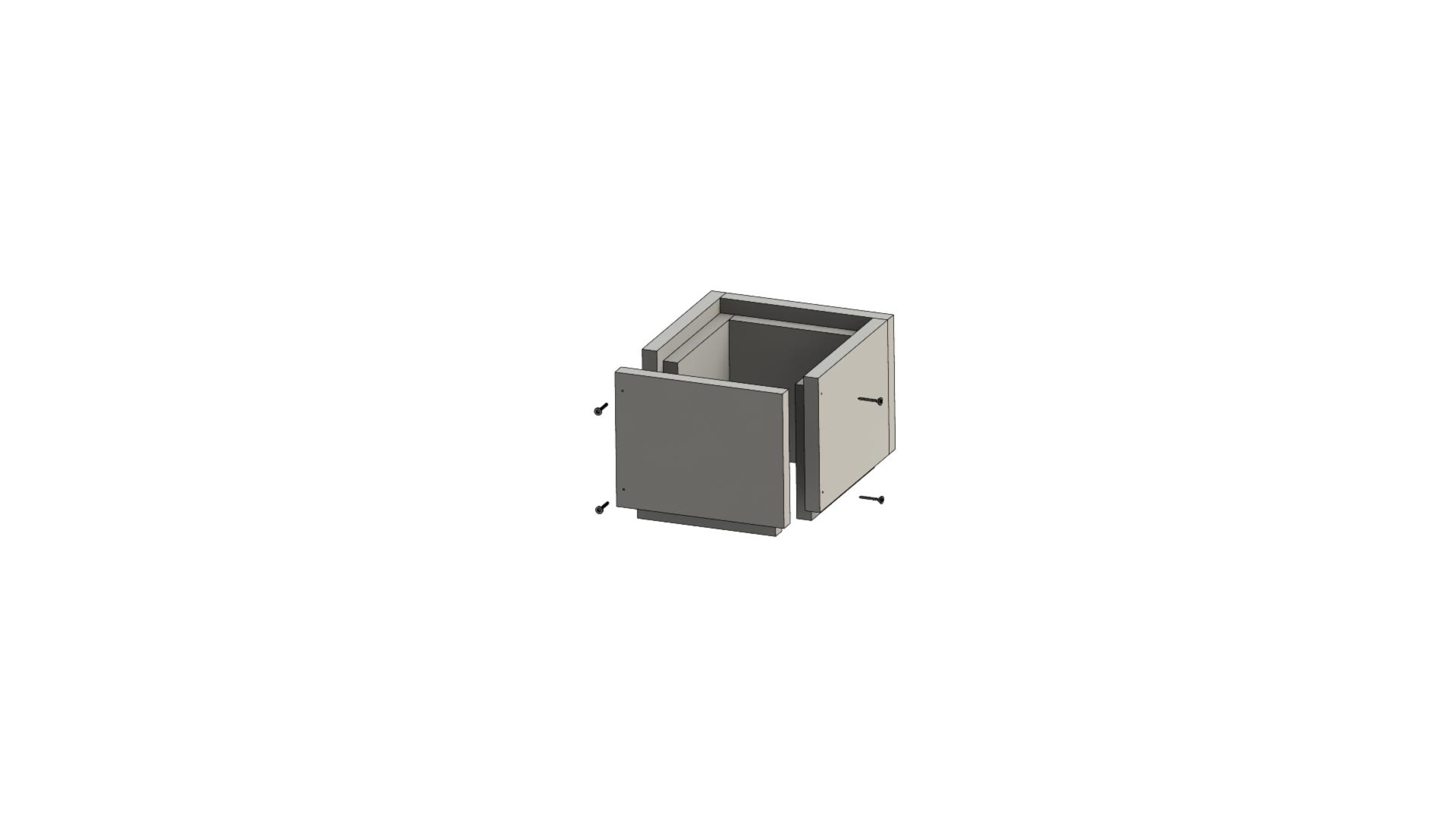 Leichtbauschornstein - Schachtelement 250 mm - Jeremias F90