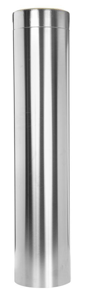 Edelstahlschornstein - Längenelement 1000 mm - doppelwandig - Jeremias DW-Vision