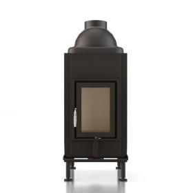 Kachelofeneinsatz Brunner HKD 2.6 Drehtür Flachglas, 9 kW