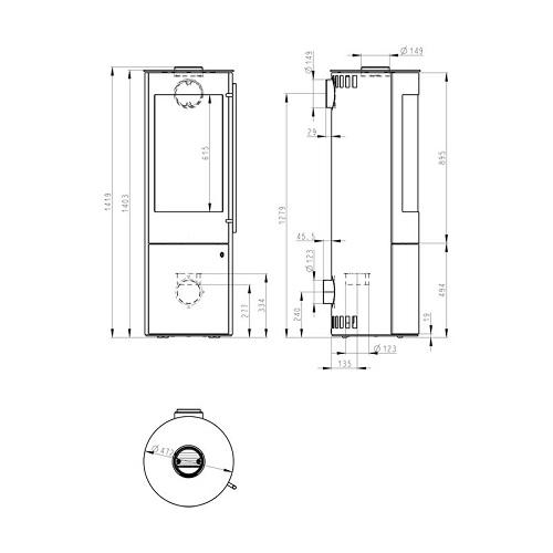 Kaminofen Olsberg Palena Plus Compact 5kW
