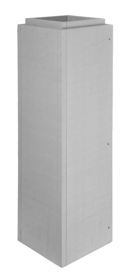 Leichtbauschornstein - Schachtelement 1000 mm verschraubt - Jeremias F90